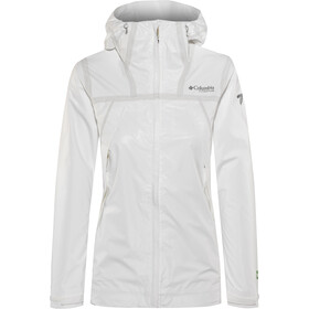 Columbia OutDry Ex ECO Tech Chaqueta Mujer, white undyed